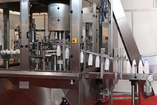 Photo of machine following food packaging standards